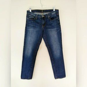 Just Black Slim Ankle Distressed Jeans 28